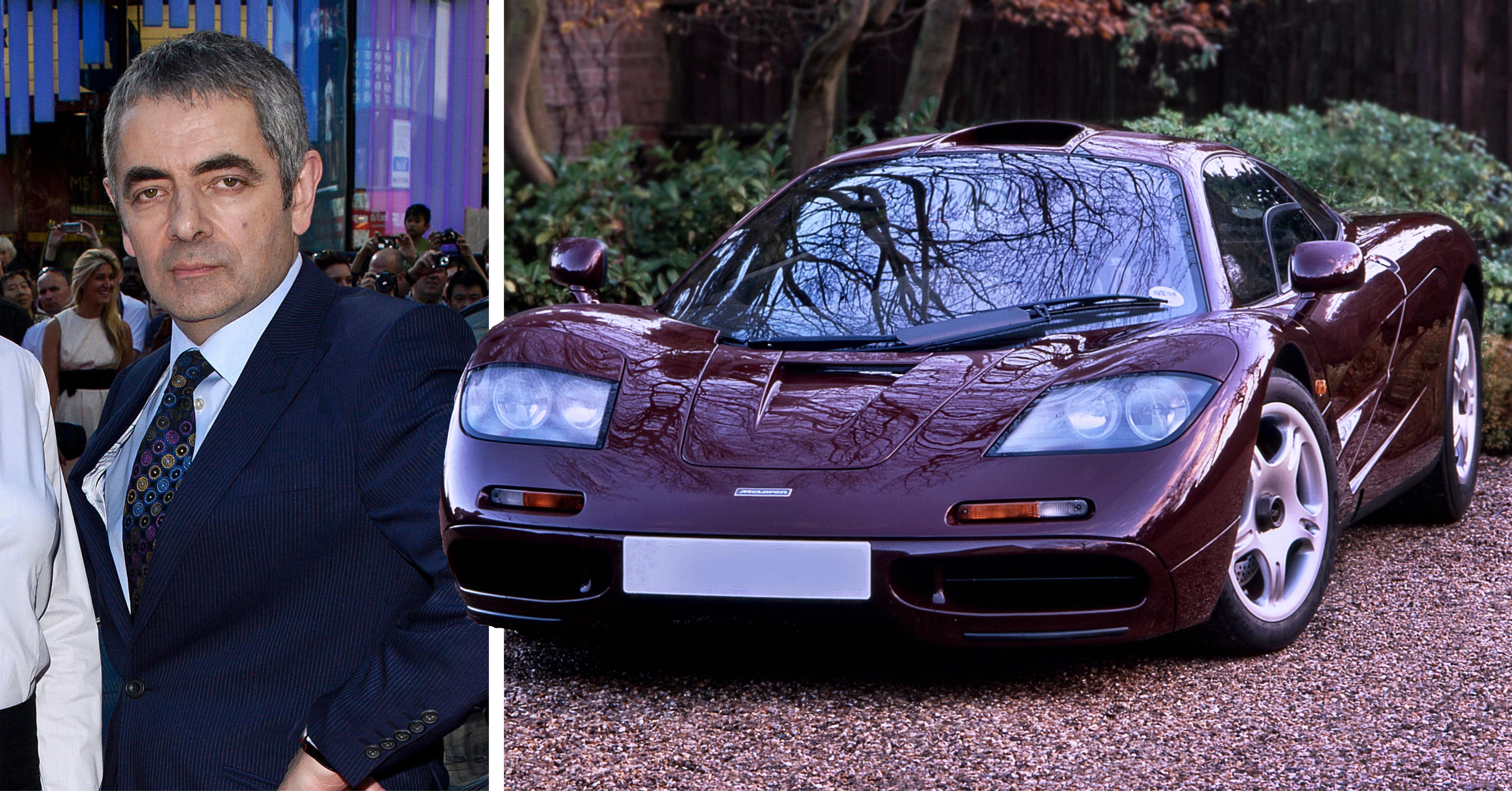 Mr bean saljer superlyxiga sportbilen for 100 miljoner