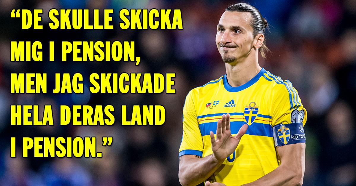 zlatan citater Zlatan Ibrahimovics 19 bästa citat   Hänt.se zlatan citater