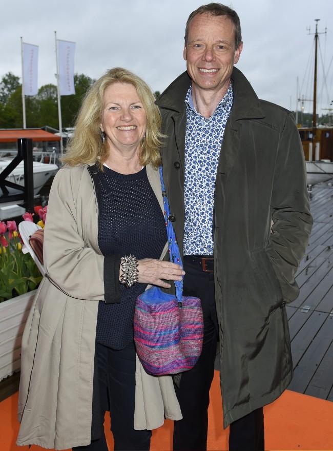Christer Fuglesang, Lisa Fuglesang Säsongsinvigning, Strandbryggan, Stockholm, 2015-05-19 (c) Karin Törnblom / IBL