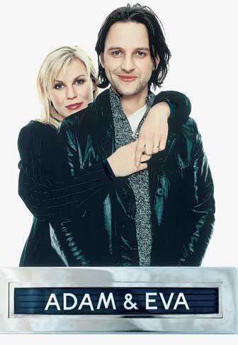 """Josefin Nilsson och Björn Kjellman gjorde succé i filmen """"Adam och Eva"""" 1997. Foto: IBL"""