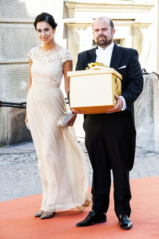 "Meral Tasbas från ""Baren"" och Johan Carlström Prince Carl Philips and Sofia Hellqvists wedding, Stockholm, Sweden 2015-06-13 (c) Ola Axman / Aftonbladet / IBL * * * EXPRESSEN OUT * * * AFTONBLADET / 85525"
