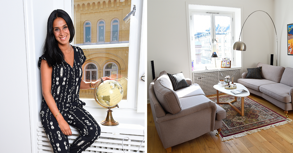 Stilrent och minimalistiskt hemma hos Meral Tasbas: