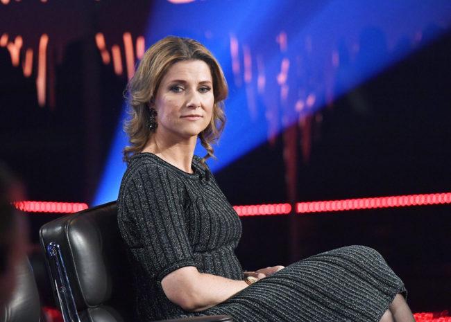 Princess Märtha Louise of Norway 'Skavlan' TV show, Stockholm, Sweden, 2017-02-08 (c) Karin Törnblom / IBL XPBE