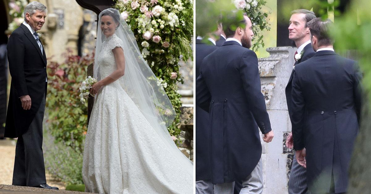 Här får brudgummen Pippa – kungliga bröllopet i England