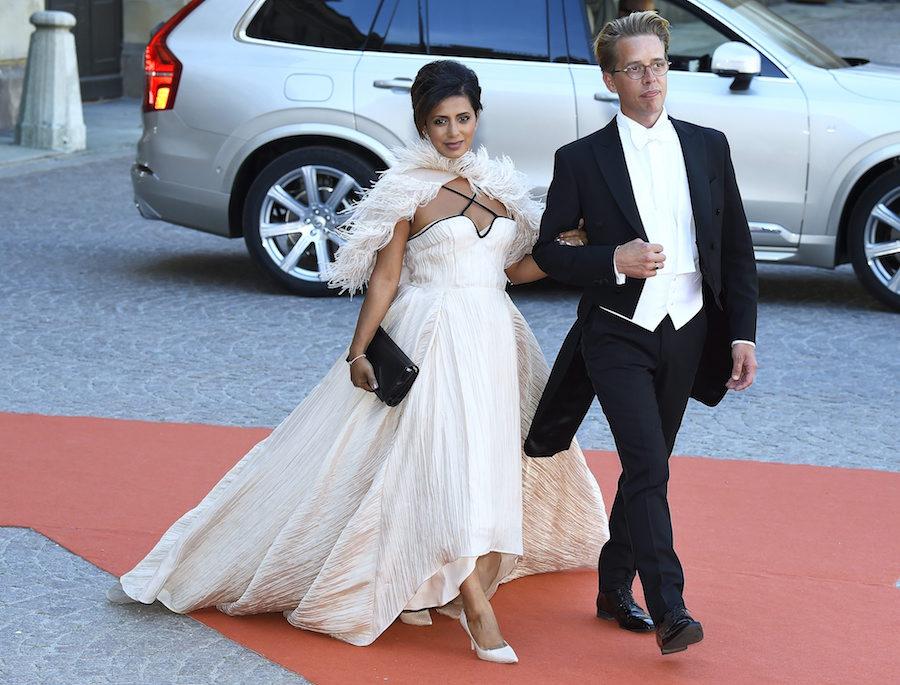 Tidigare var Anitha gift med Calle Schulman