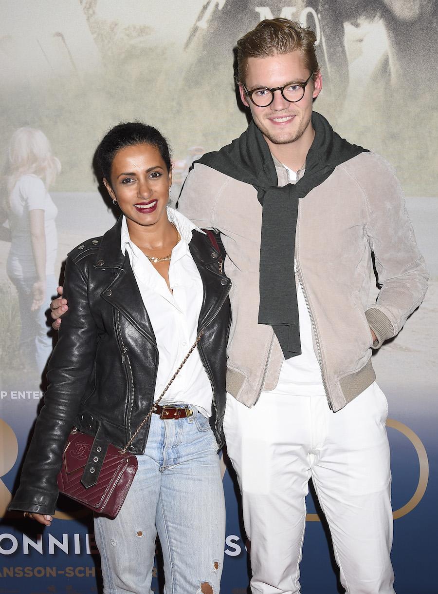Anitha Schulman och pojkvännen Joel Åhlén