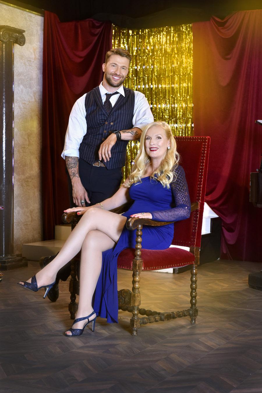 Gunilla Persson är aktuell med Svenska Hollywoodfruar och Biggest loser VIP