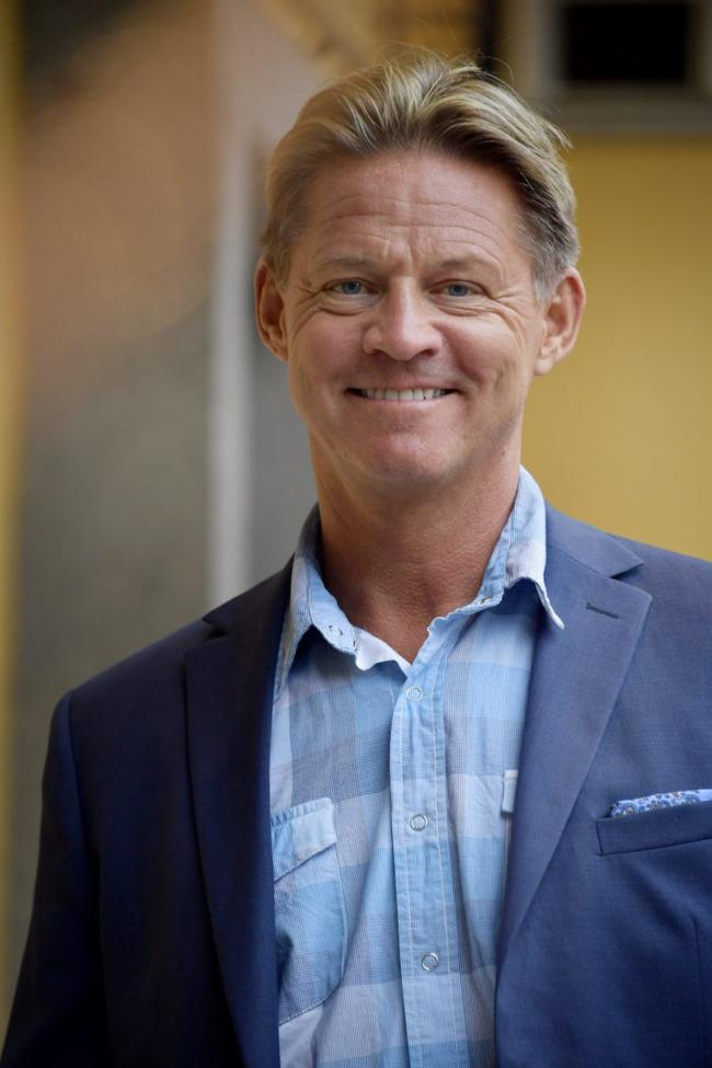 """Mikael Sandström är mest känd som """"Soldoktorn"""" i TV4:s Nyhetsmorgon."""