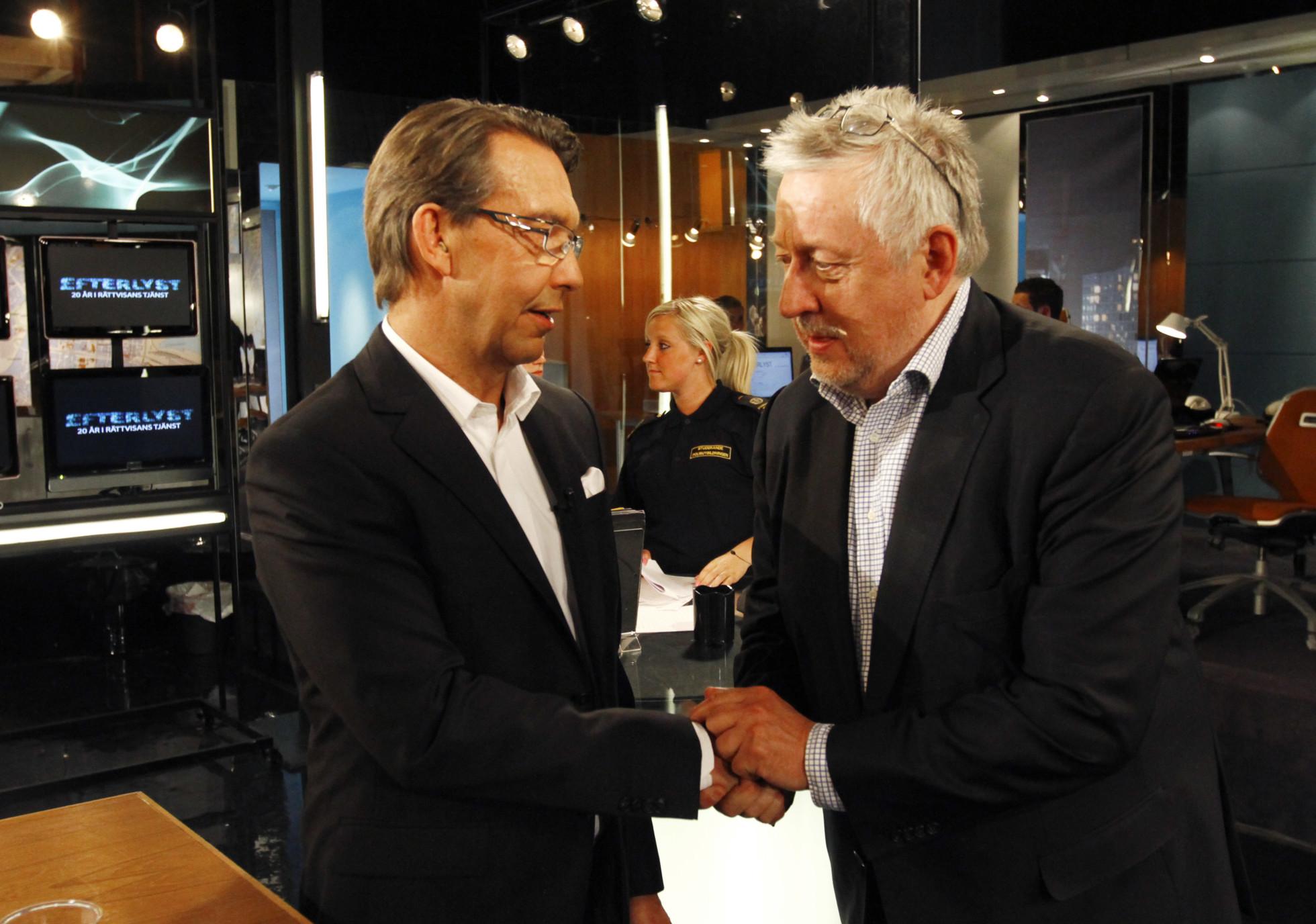 Leif GW och Aro i TV3:s Efterlyst