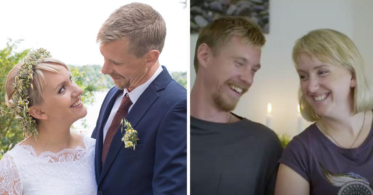 Gift vid första ögonkastet-parets avslöjande efter SVT-profilens sexfråga