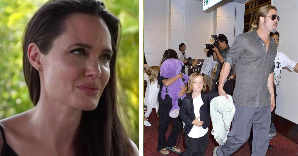 Angelina Jolie och Brad Pitts avtal – så ska de dela på barnen