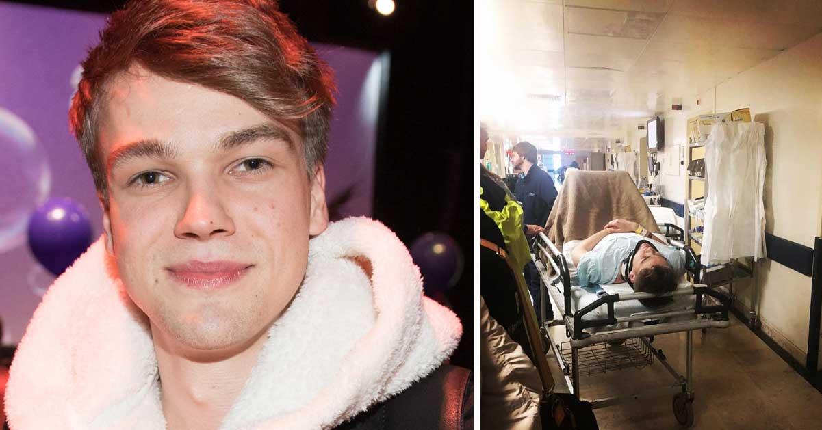Mikolas Josef svårt skadad i Eurovision Song Contest – 22-åringen akut till sjukhus