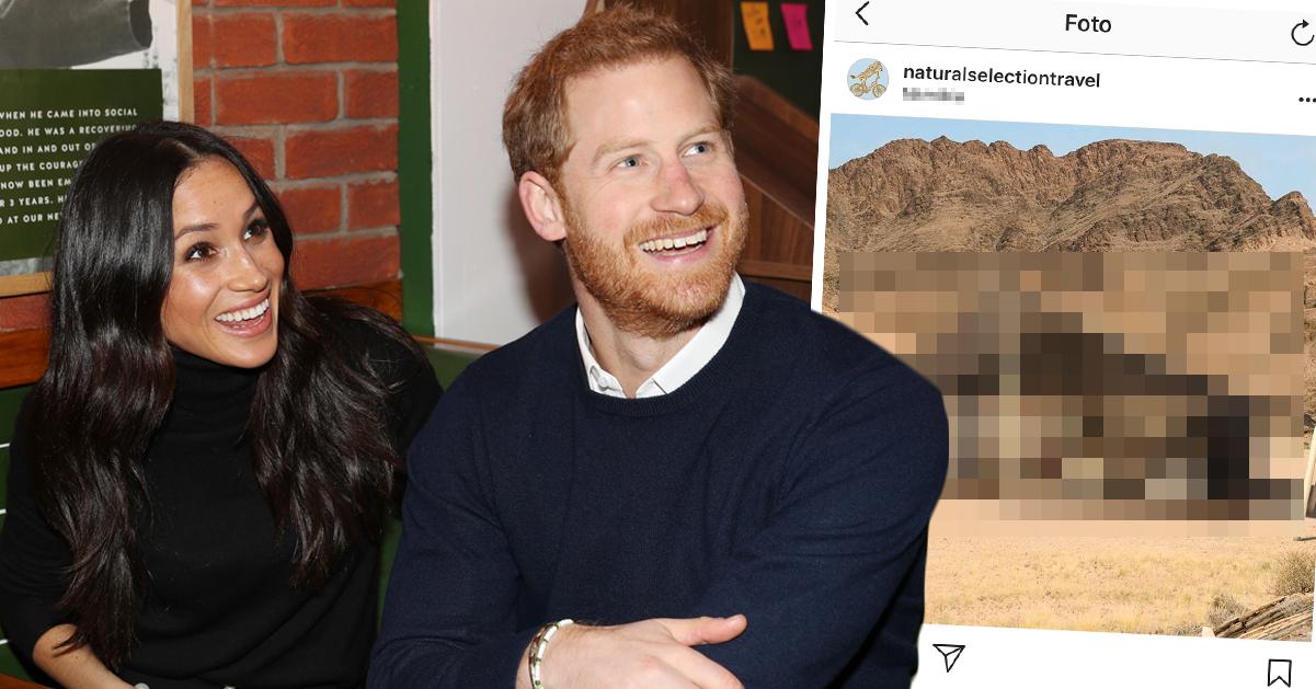 Uppgifter: Hit går prins Harrys och Meghan Markles oväntade smekmånad