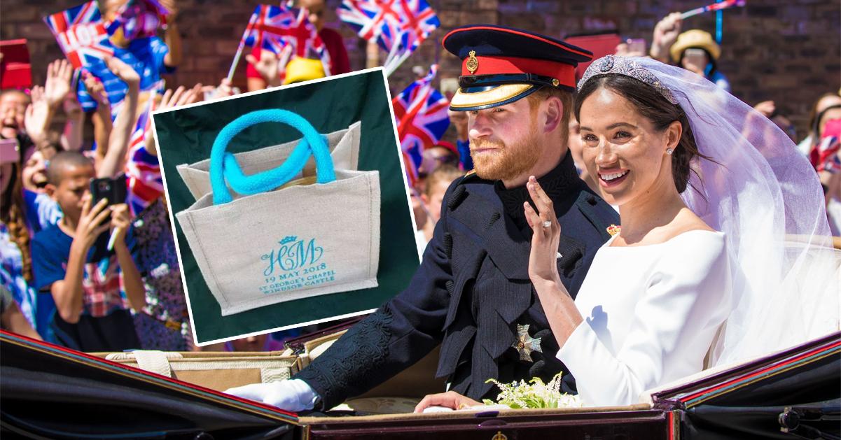 Prins Harrys och Meghans bröllop – det fick gästerna i