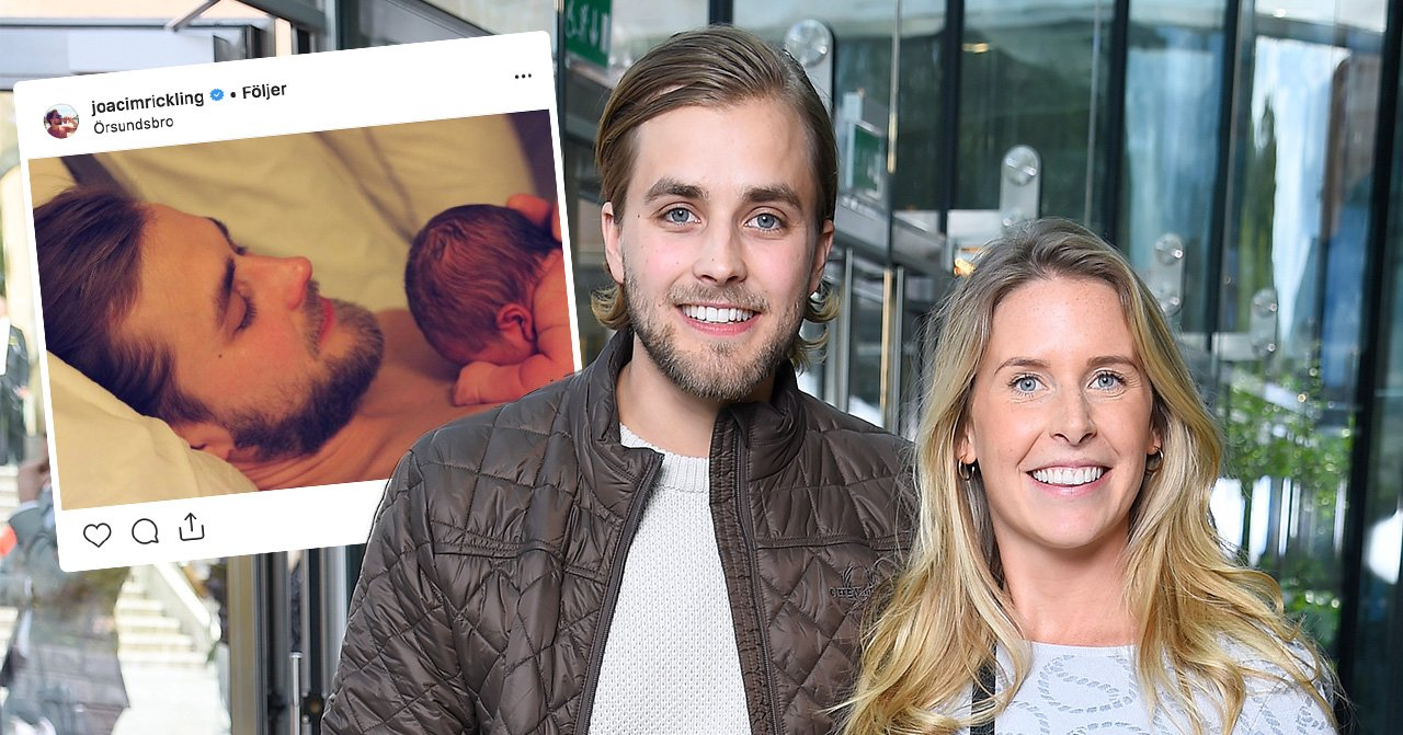 Bonde söker fru-paret Caroline Kejbert opch Joacim Rickling har fått barn