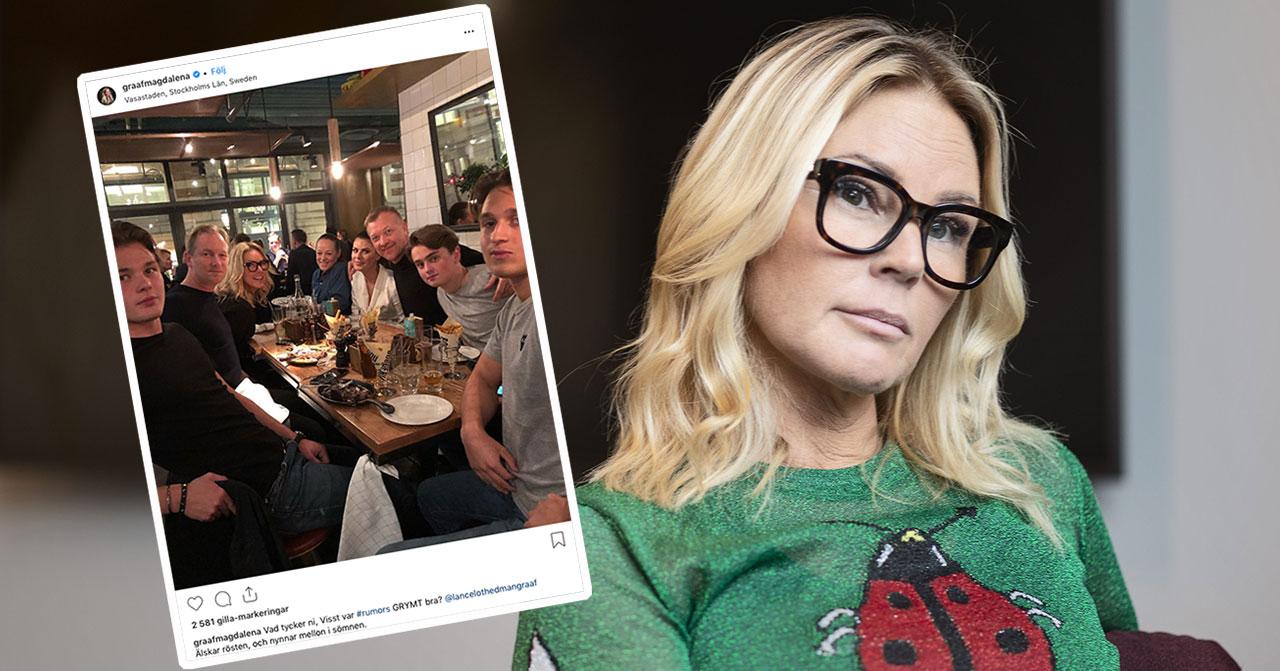 """Magdalena Graafs ilska efter händelsen med sonen: """"Kostat"""""""