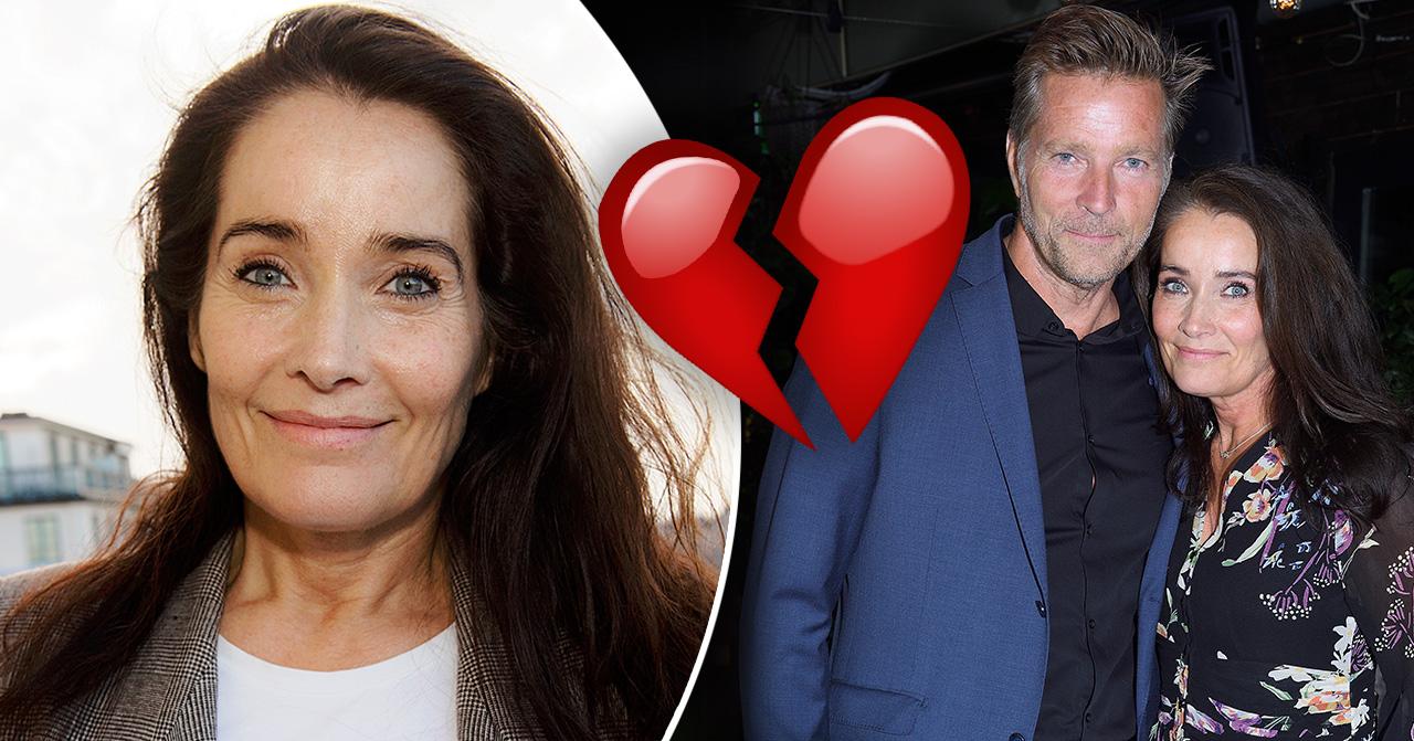Martin Lamprecht och Agneta Sjödin går skilda vägar