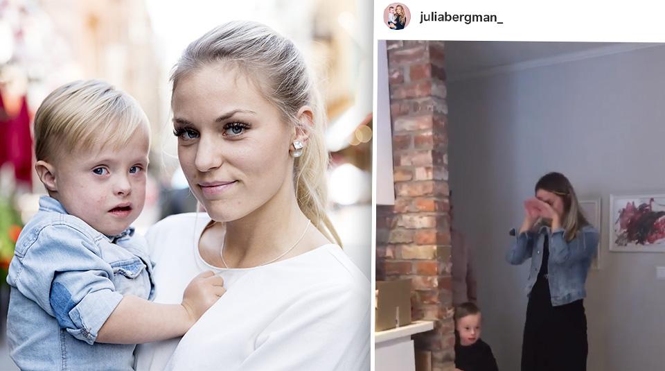 Julia Bergmans babyshower
