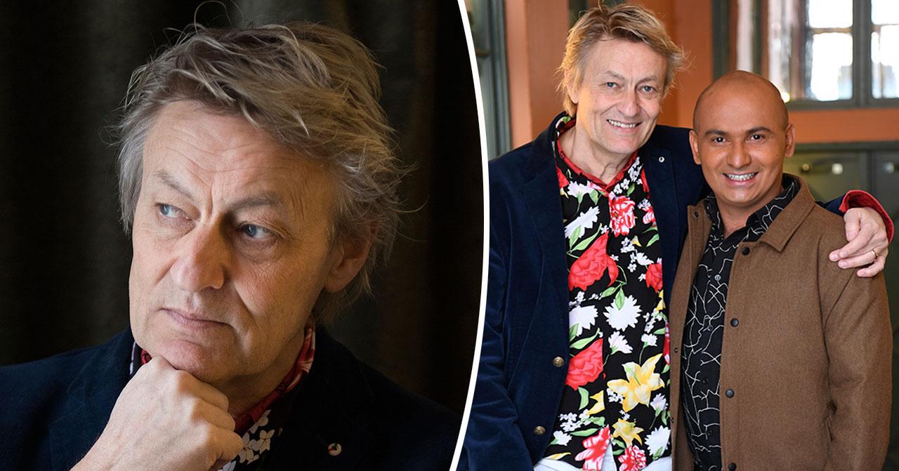 Lars Lerin avslöjar nya barnbeslutet med maken Junior