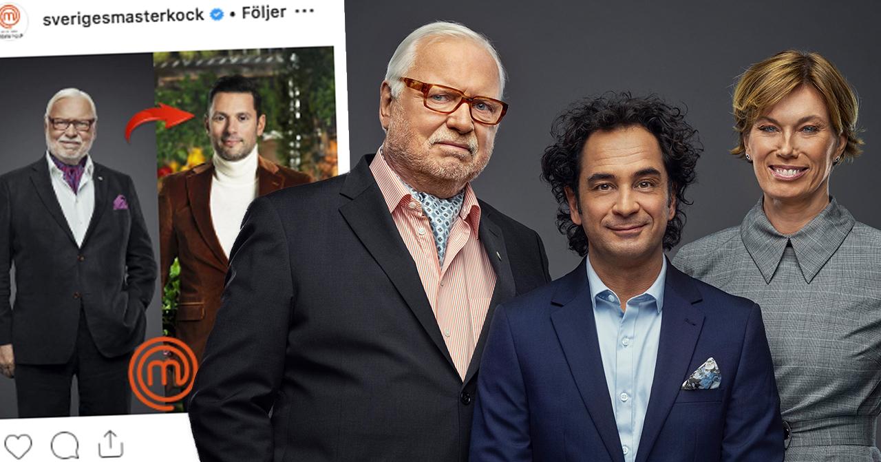 Därför saknas Leif mannerström i Sveriges mästerkock på TV4