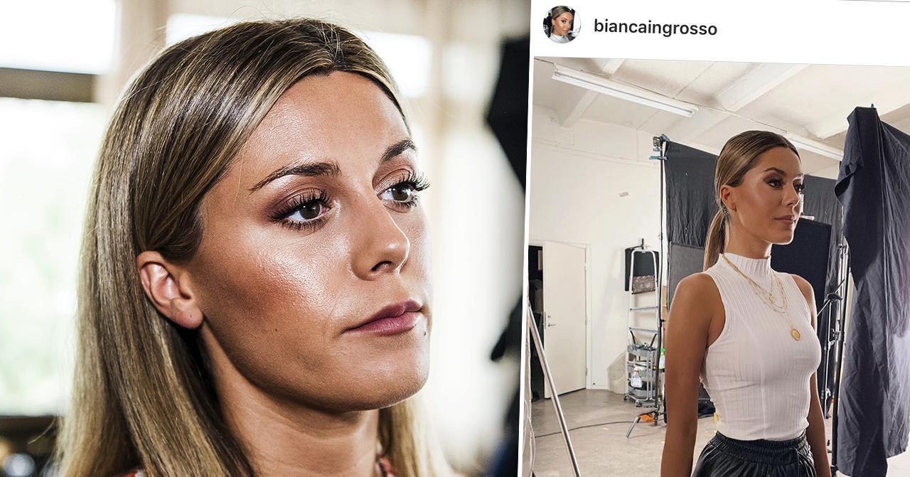Bianca Ingrosso anklagas för att ha använt Photoshop