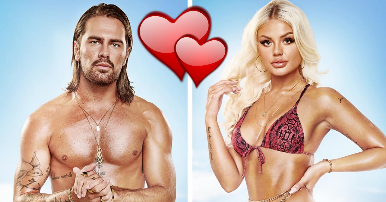 Julia Markham och Niclas Åkerlund visar öppet upp sin kärlek efter Ex on the beach.