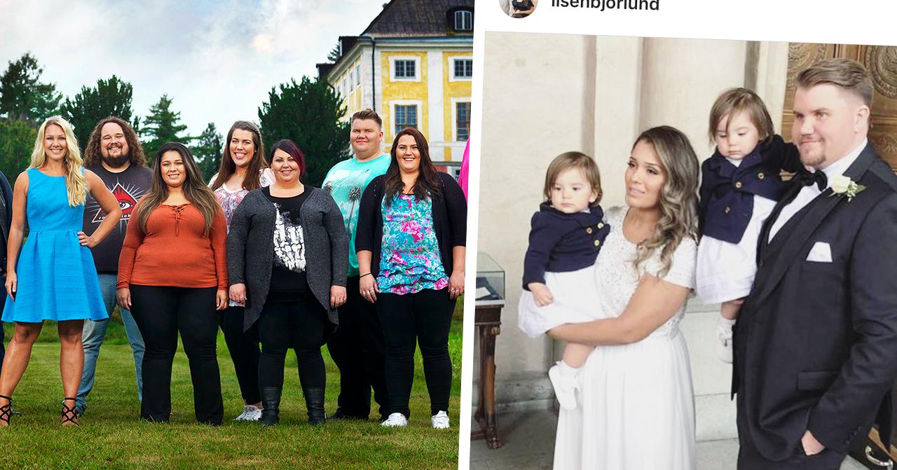 Lisen och Pontus björlund från biggest loser har gift sig