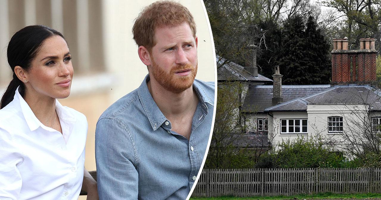 Första bilderna från Meghan Markle och prins Harrys nya hem