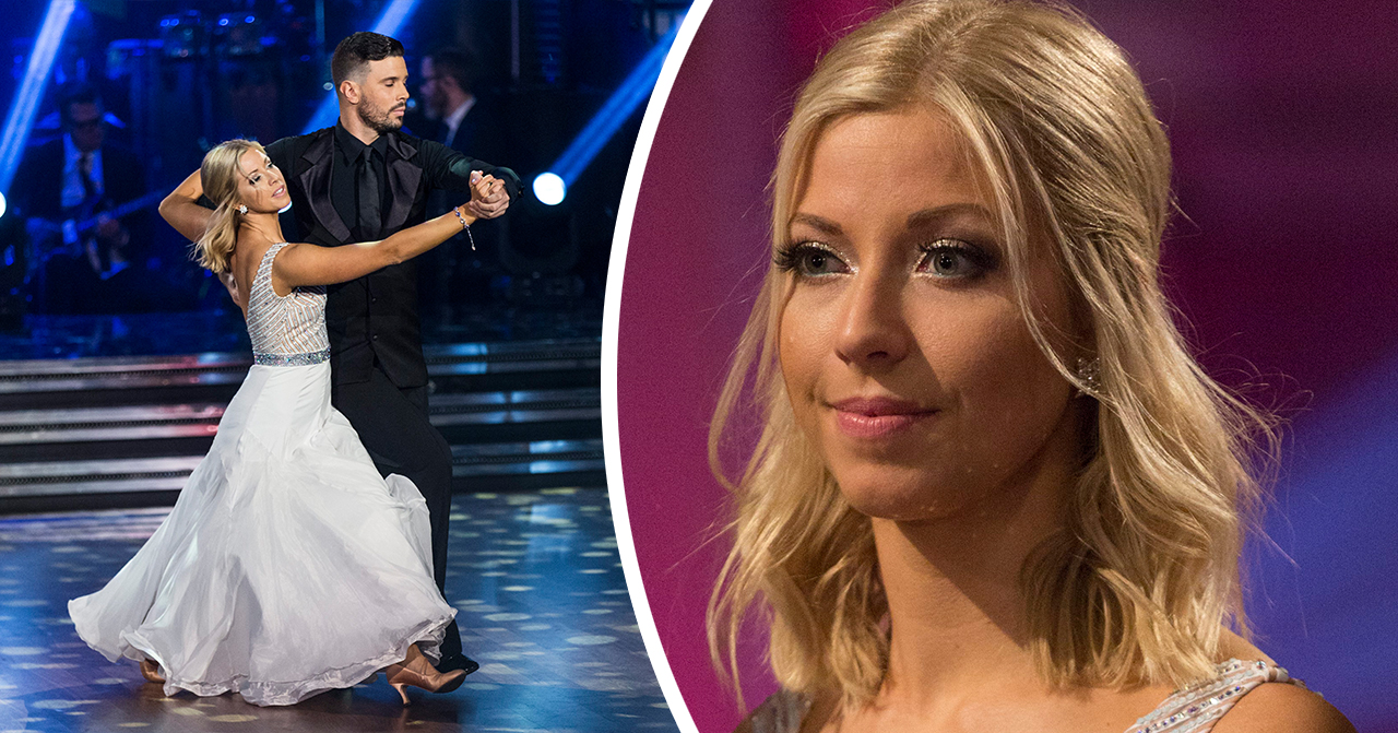 Sigrid Bernson skadad under repetitionerna av Let's dance på TV4