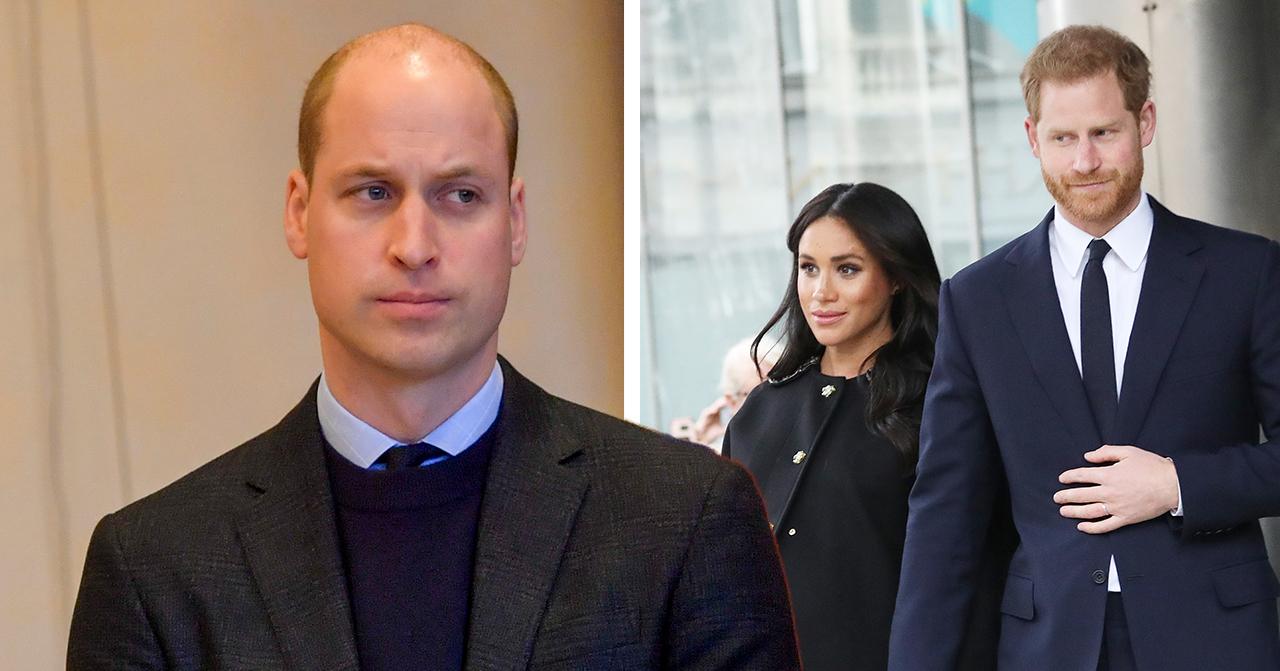 Williams erkännande om Meghan markle och prins william