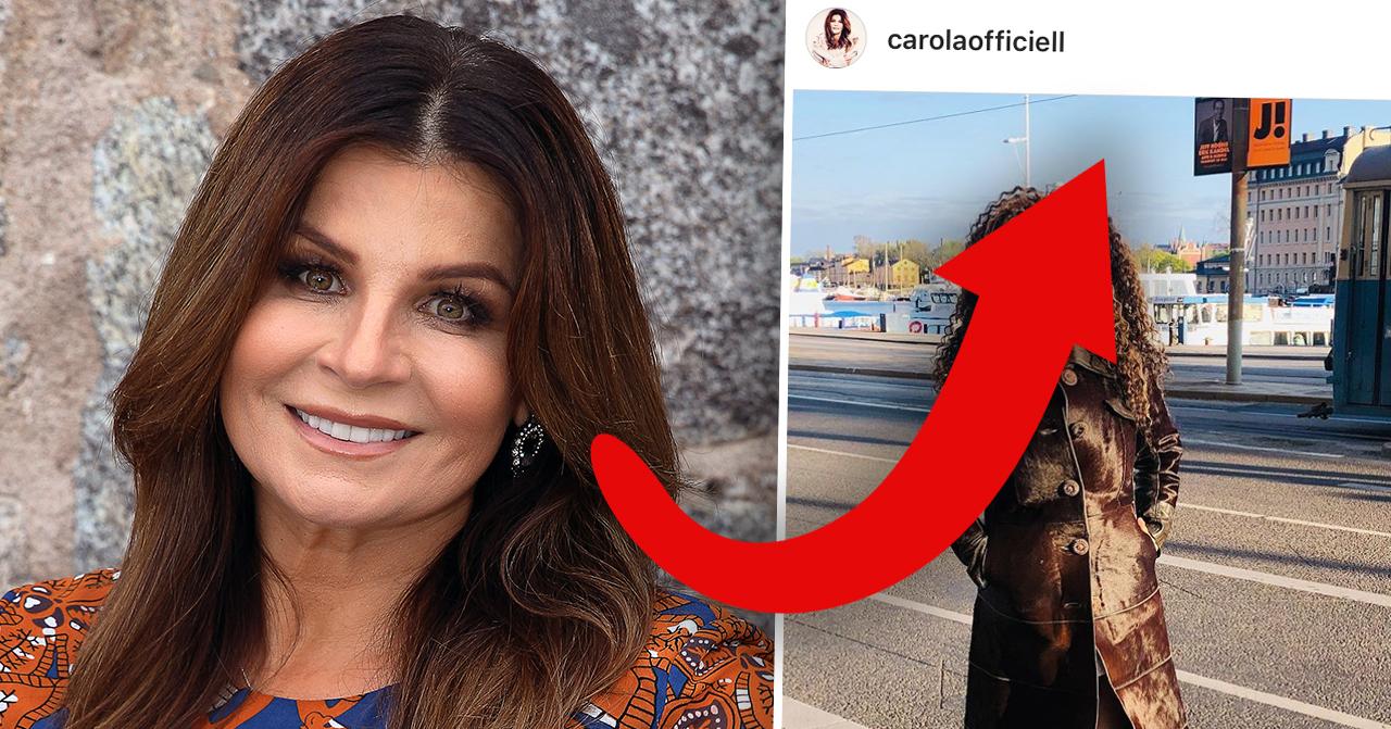 Carola under Eurovision song contest