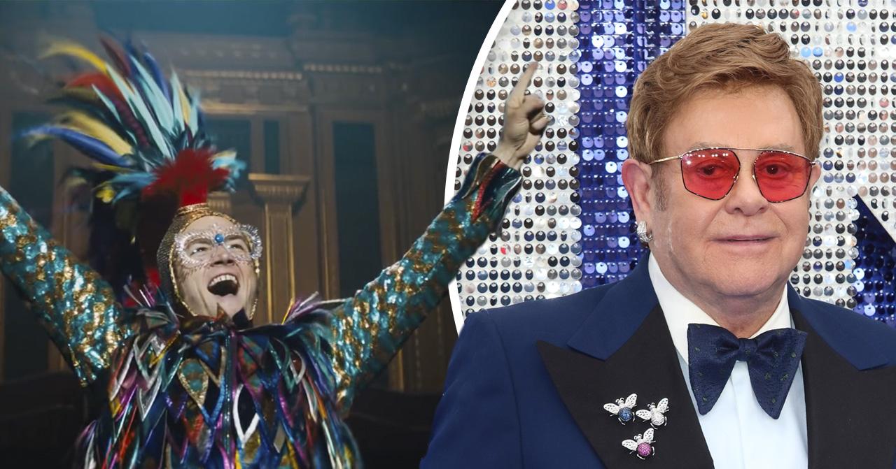 Officiella trailern släppt till Rocketman –filmen om Elton John.