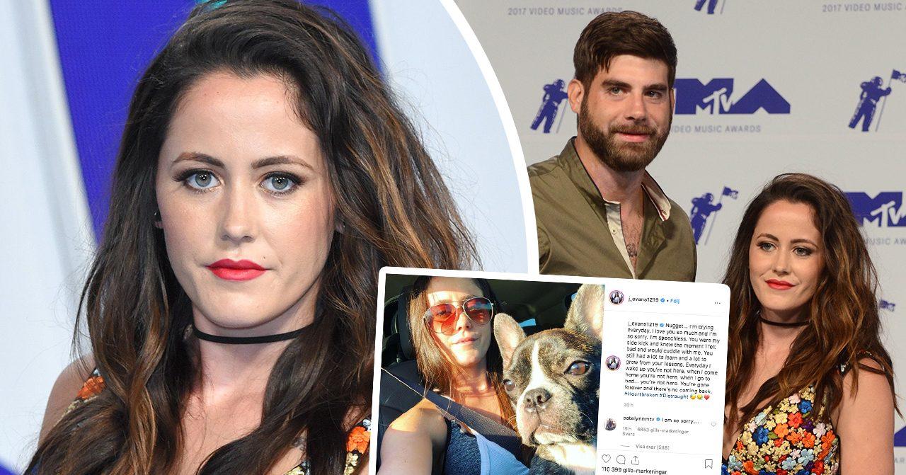 Jenelle Evans sparkas från Teen mom efter att maken David Eason skjutit ihjäl familjens hund - nu har MTV fått nog.