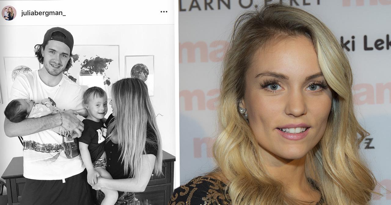Julia Bergman om lyckan hon känner över att allt flyter på med dotter Zelda efter födseln.