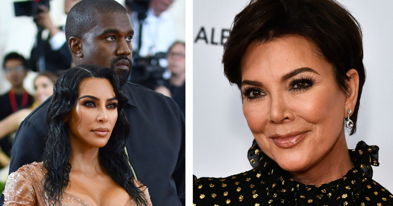 Kim Kardashian Kanye West Kris Jenner 2019