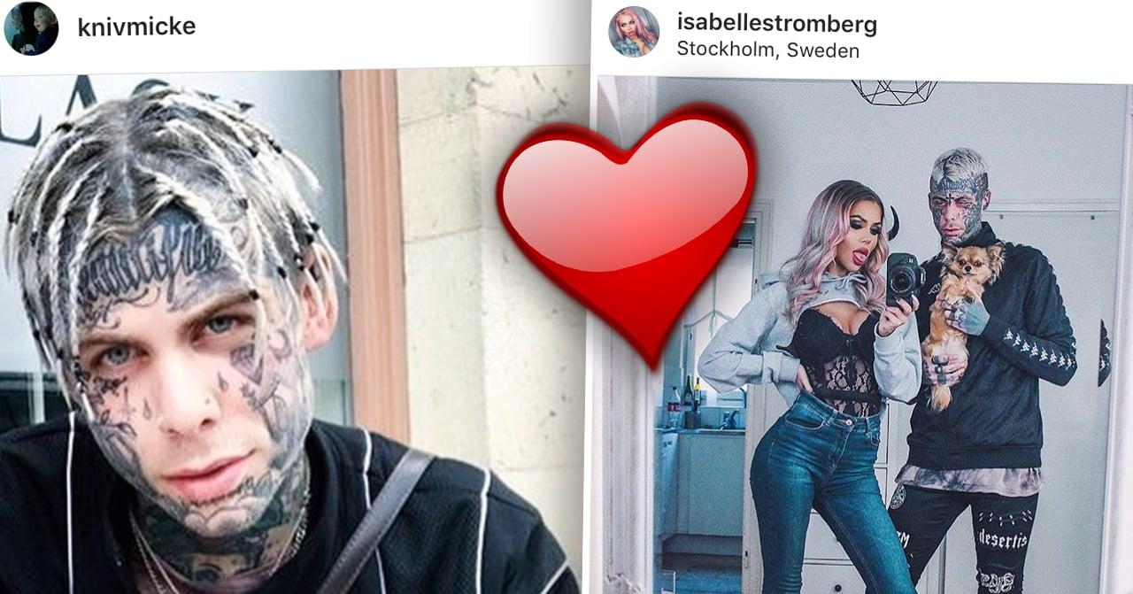 Michael Knivmicke Sjögren och Isabelle Strömberg