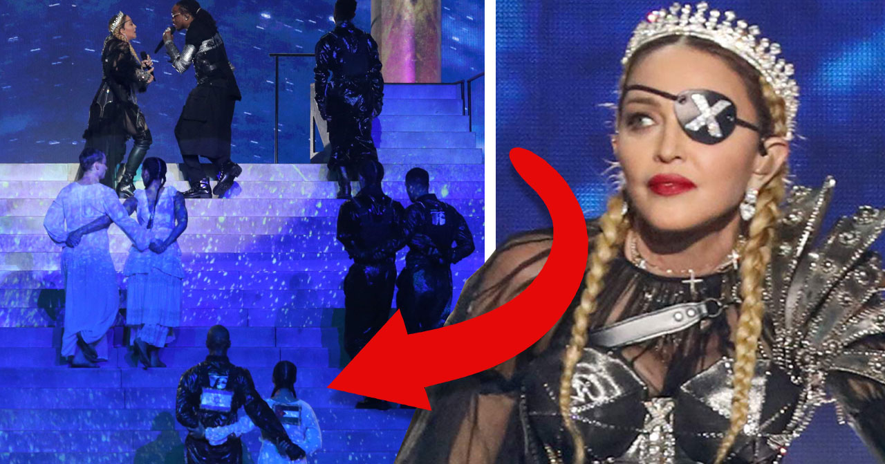 Madonna förbjudna flaggor i Eurovision 2019