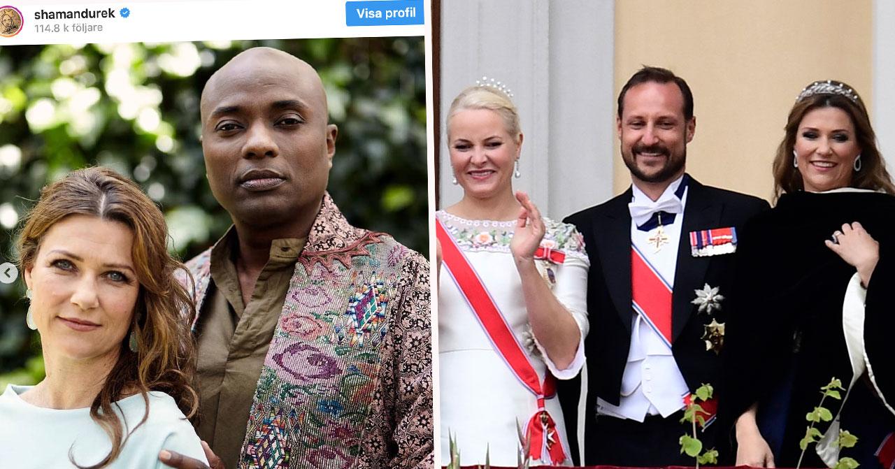 Prinsessan Märtha Louise nya pojkvän Shaman Durek