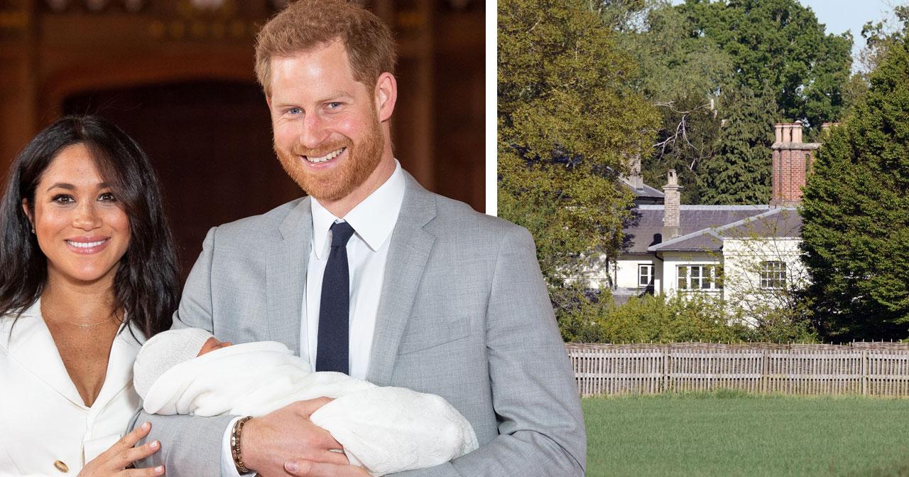 Meghan Markle prins Harry Frogmore cottage