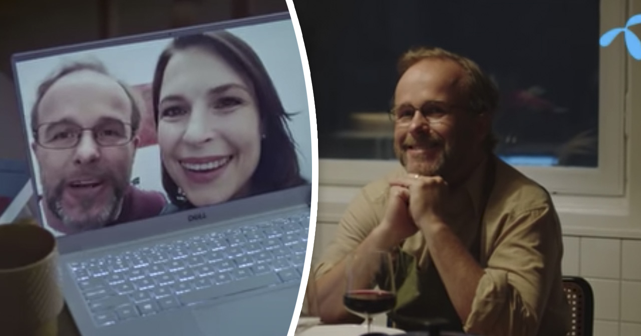 Michael Perlitz från Telenor-reklamen är död. Familjens ord om sorgen.