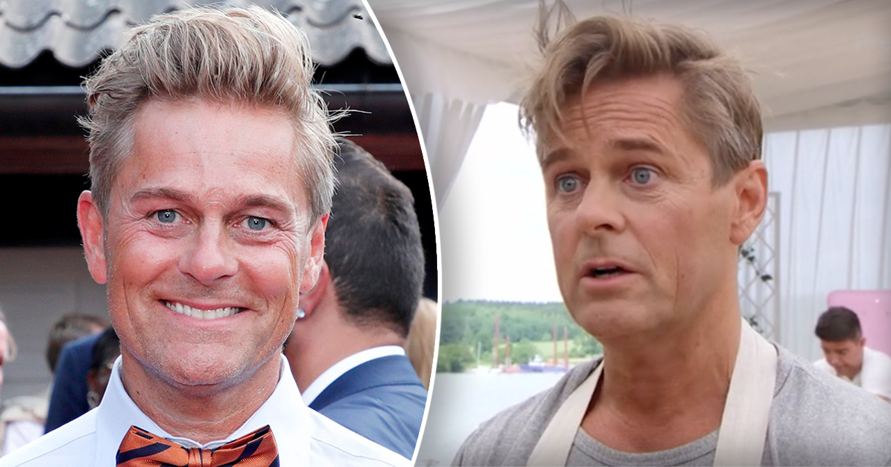 Niclas Wahlgren i Hela kändis-Sverige bakar