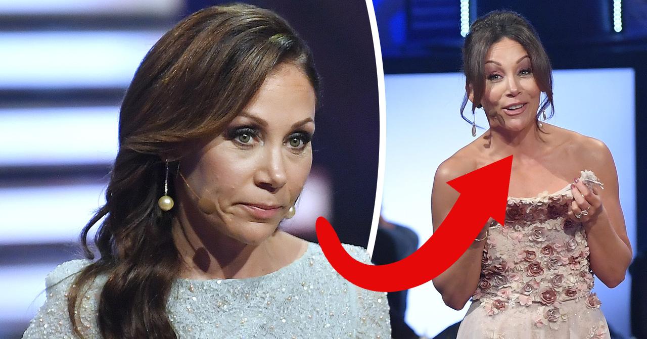 Tilde de Paula tappade klänningen i Let's dance och fick avbryta sändningen.