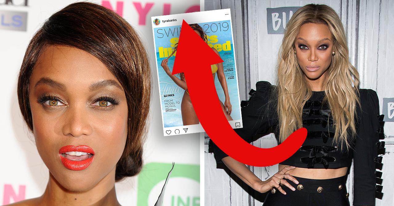 Tyra Banks comeback efter pausen