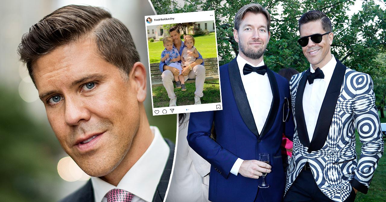 Fredrik Eklund och hans barn