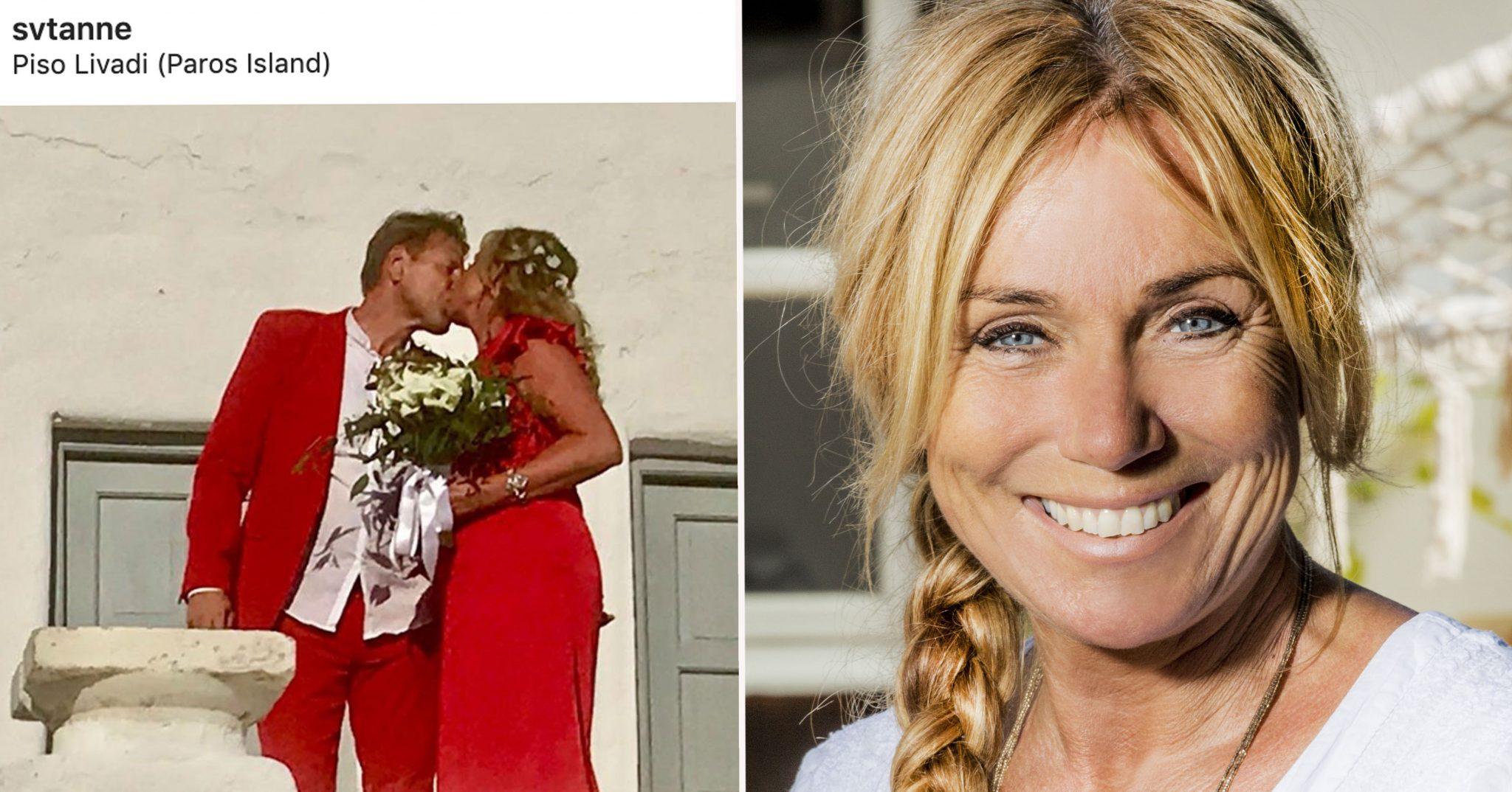 Anne Lundbergs bröllop med Allan