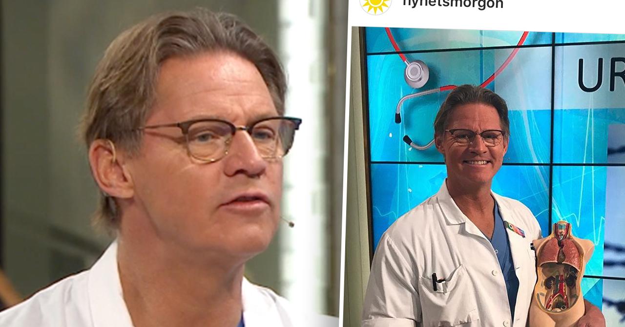 Doktor Mikael i Nyhetsmorgon TV4