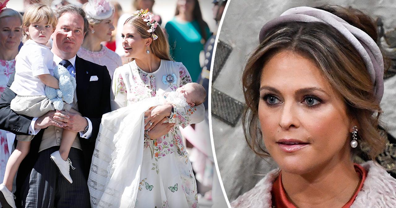 Prinsessan Madeleine och maken Chris Oneill