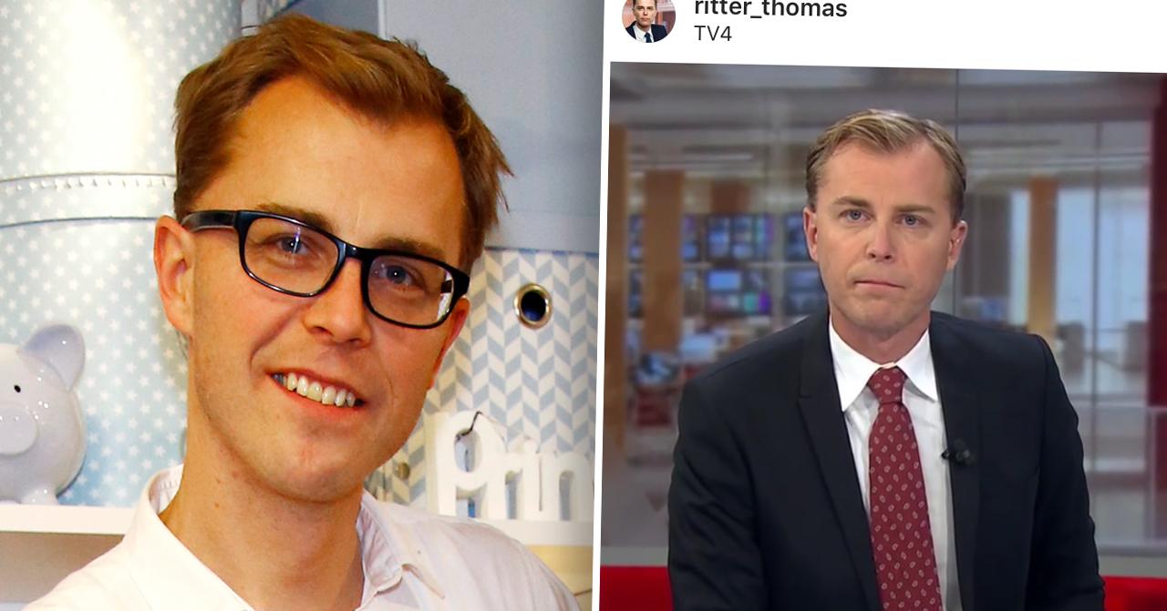 Thomas Ritter i Nyhetsmorgon på TV4
