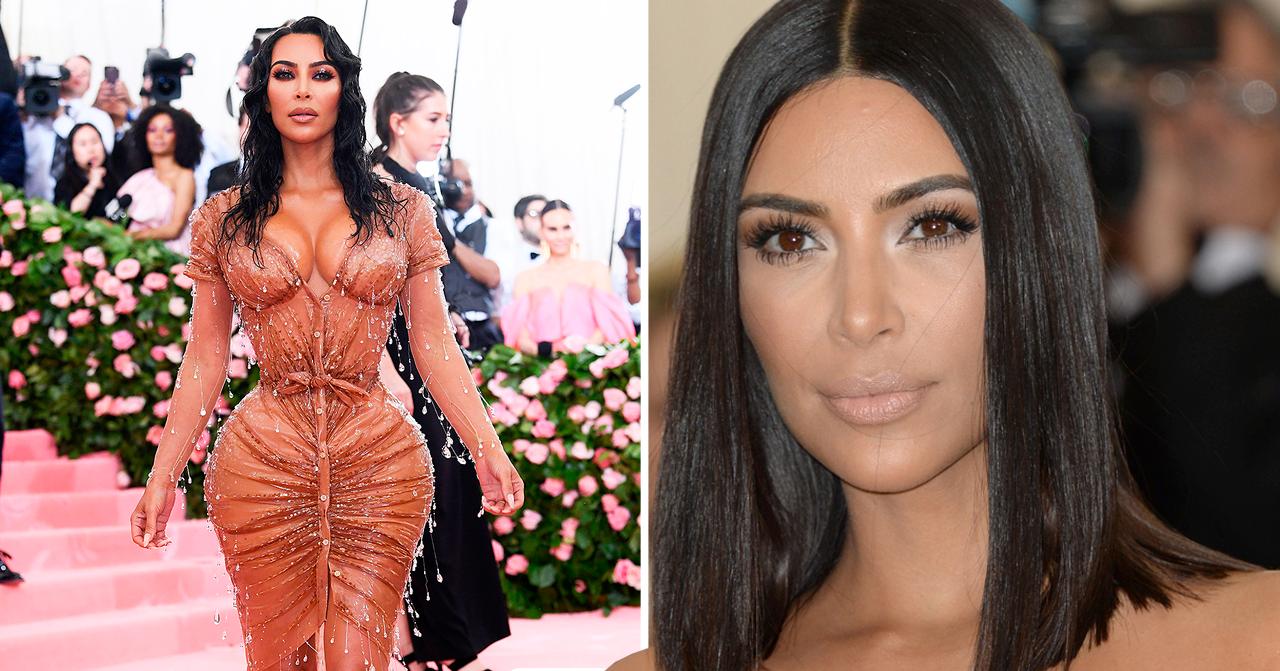 Kim Kardashian slår ifrån sig ryktena om hennes kroppsförändring.