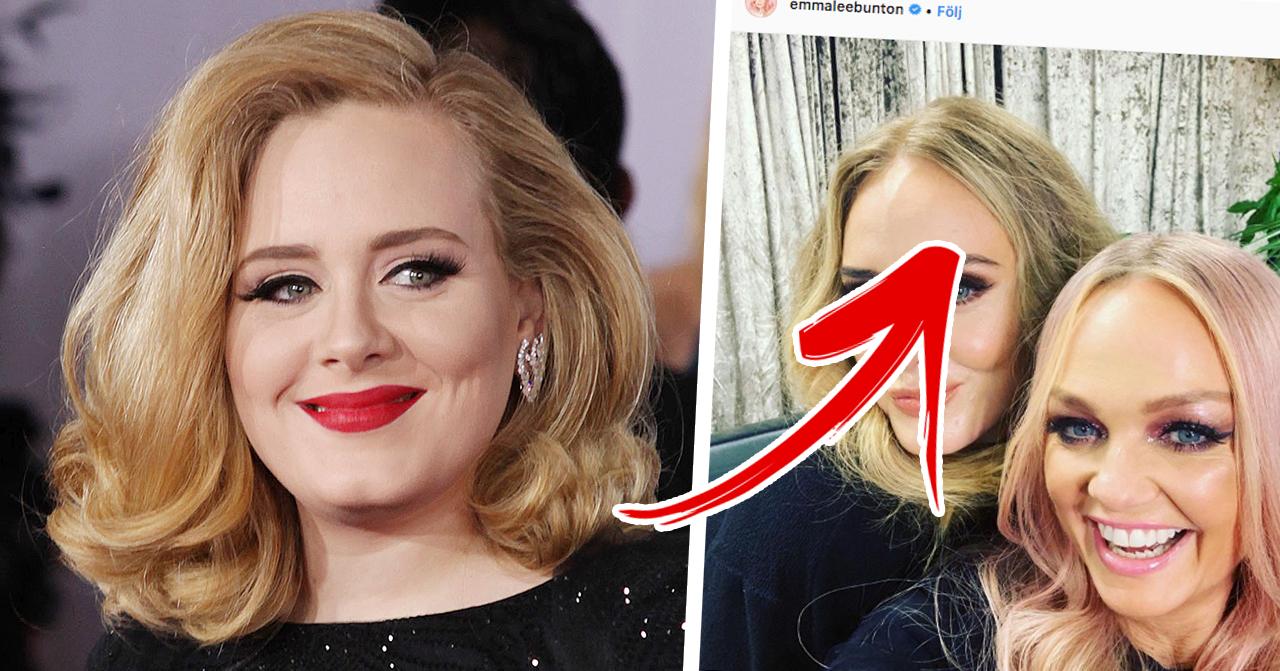 Adeles nya look efter skilsmässan